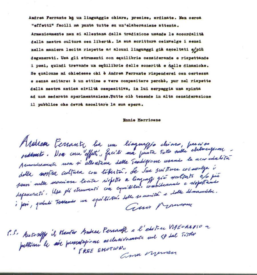 Ennio Morricone E La Sua Orchestra I Grandi Temi Da Film Di Ennio Morricone